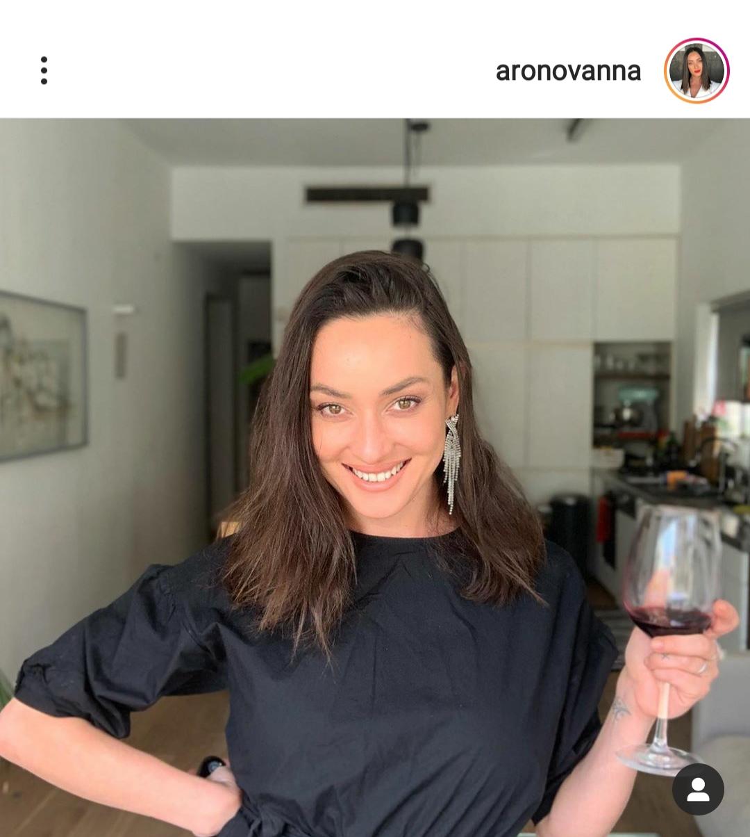 אנה ארונוב חיה בסרט