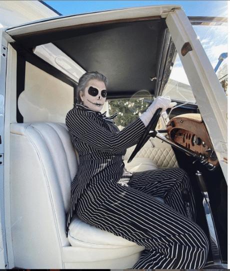 Kris Jenner Halloween