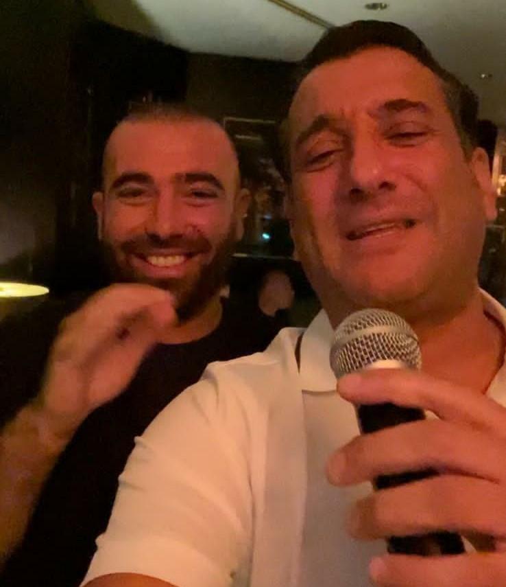 Omar Adam and Chaim Israel celebrated